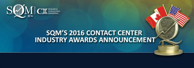 Contact Center Industry Awards