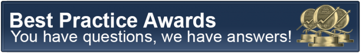 Contact Center Best Practice Awards Header