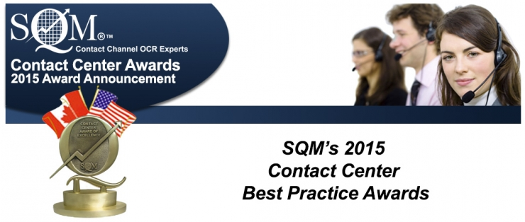 2015 Contact Center Best Practice Awards