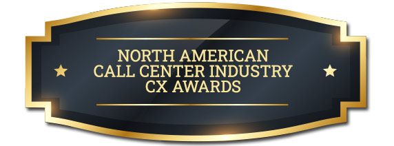North American Call Center CX Awards Badge