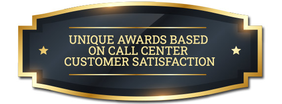 Unique Call Center Awards Badge