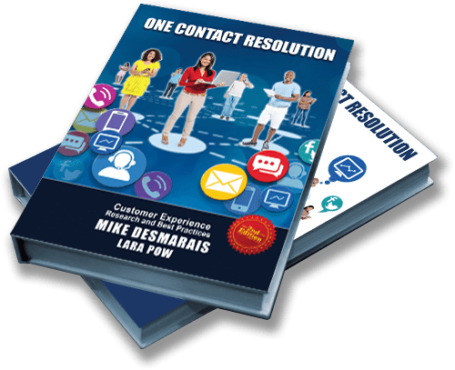 One Contact Resolution 2nd Edition Book