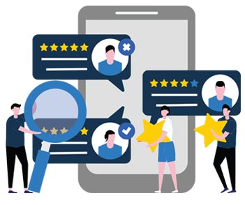 Exceptional Customer Service Reviews with 5 stars