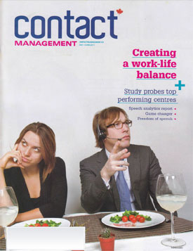 Contact Management Magazine Cover